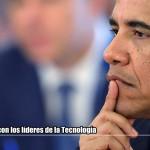 Obama: Reunión con líderes Tecnológicos